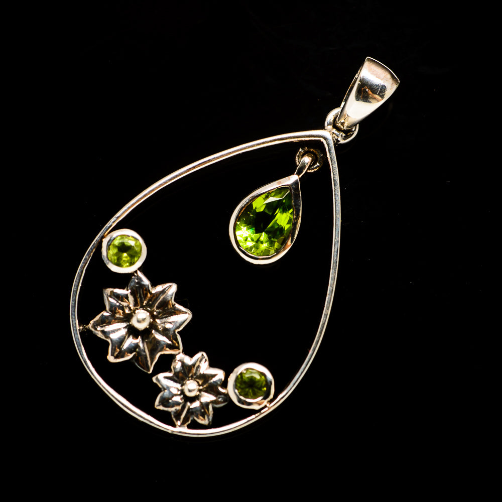 Peridot Pendants handcrafted by Ana Silver Co - PD731978