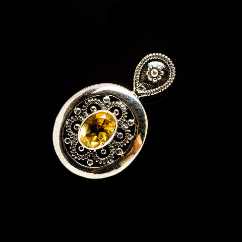 Citrine Pendants handcrafted by Ana Silver Co - PD732029