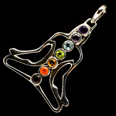 Multi-Stone Chakra Pendants handcrafted by Ana Silver Co - PD732172