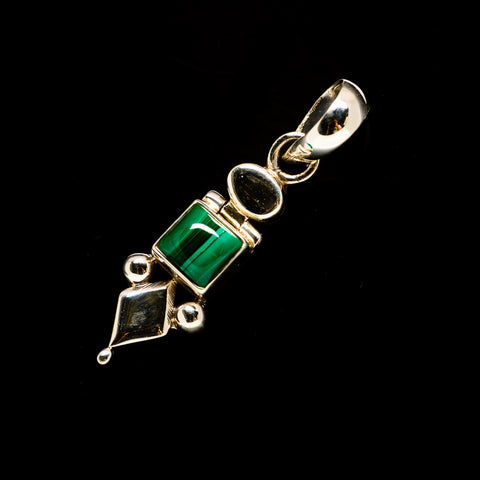Malachite Pendants handcrafted by Ana Silver Co - PD732232