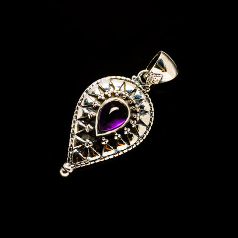 Amethyst Pendants handcrafted by Ana Silver Co - PD732682
