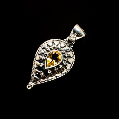 Citrine Pendants handcrafted by Ana Silver Co - PD732684