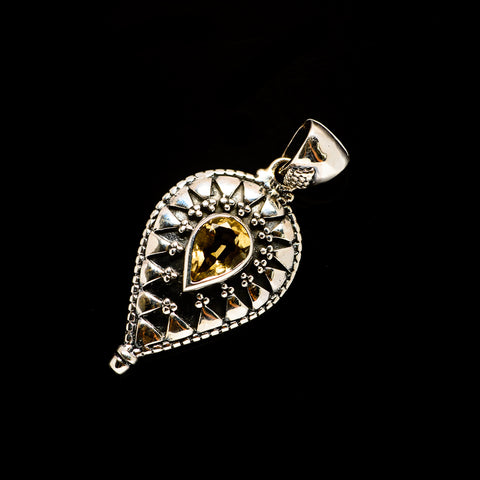 Citrine Pendants handcrafted by Ana Silver Co - PD732685