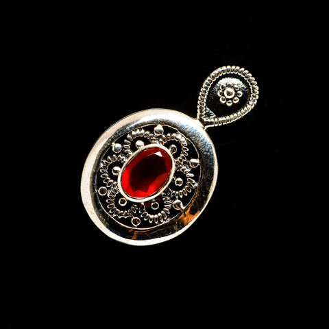 Red Onyx Pendants handcrafted by Ana Silver Co - PD732882