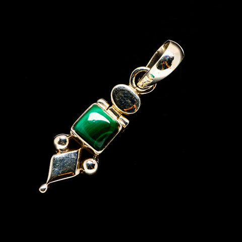 Malachite Pendants handcrafted by Ana Silver Co - PD732894