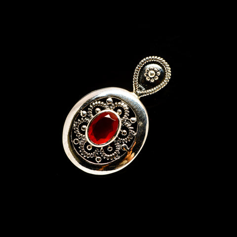 Red Onyx Pendants handcrafted by Ana Silver Co - PD733238