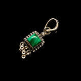Malachite Pendants handcrafted by Ana Silver Co - PD733254