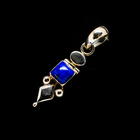 Lapis Lazuli Pendants handcrafted by Ana Silver Co - PD733474