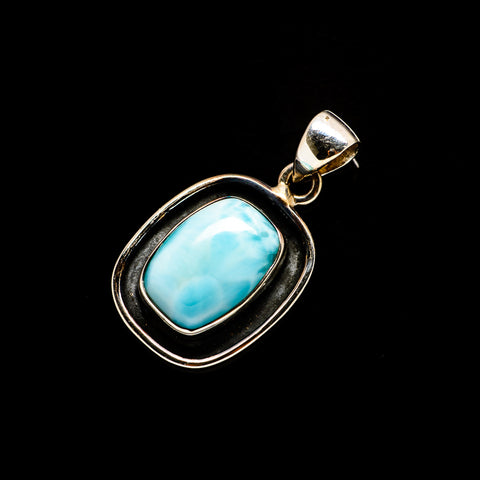 Larimar Pendants handcrafted by Ana Silver Co - PD733511