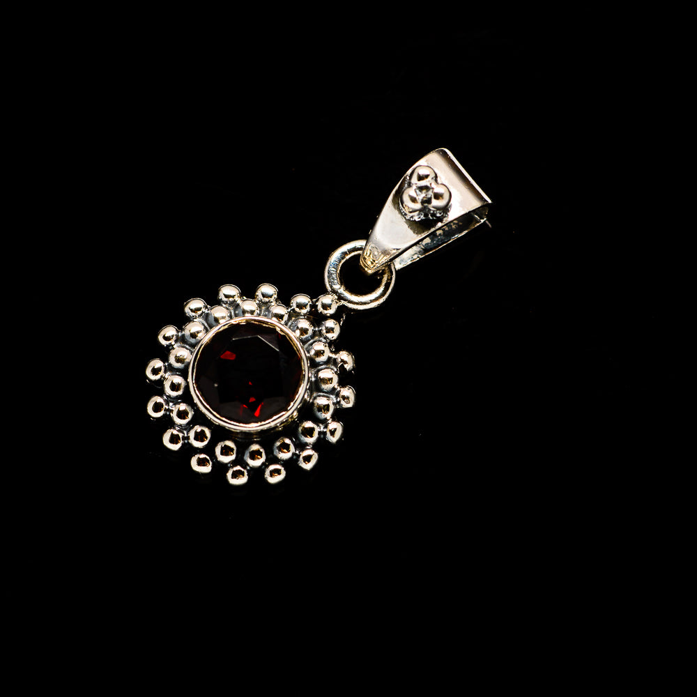 Garnet Pendants handcrafted by Ana Silver Co - PD733823