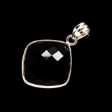 Black Onyx Pendants handcrafted by Ana Silver Co - PD734015