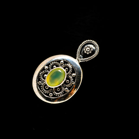 Prehnite Pendants handcrafted by Ana Silver Co - PD734079