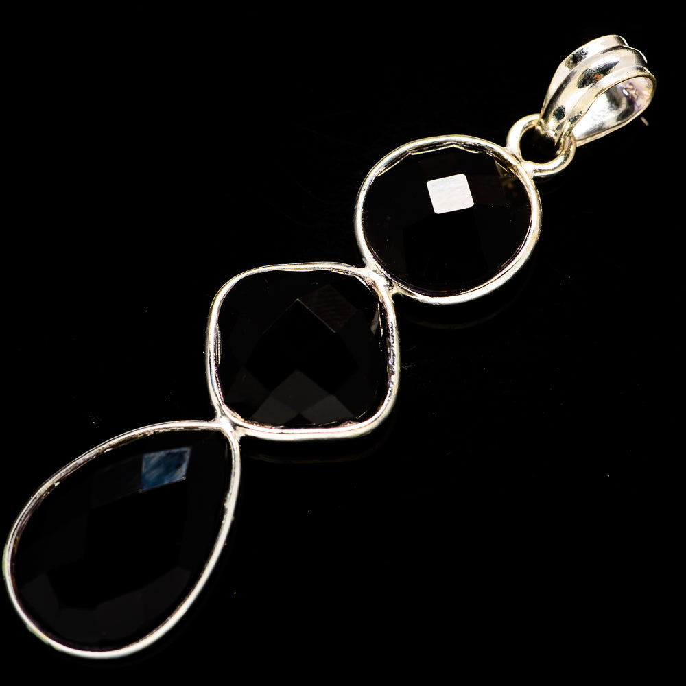 Black Onyx Pendants handcrafted by Ana Silver Co - PD734205