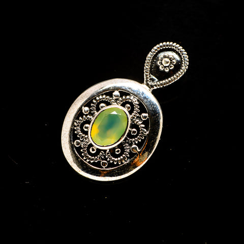 Prehnite Pendants handcrafted by Ana Silver Co - PD734216