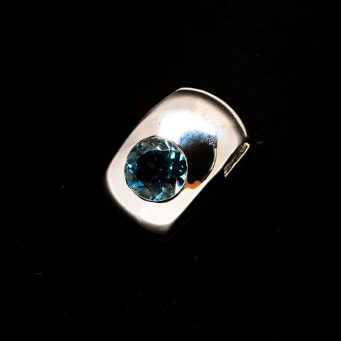 Blue Topaz Pendants handcrafted by Ana Silver Co - PD734219