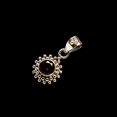 Garnet Pendants handcrafted by Ana Silver Co - PD734467