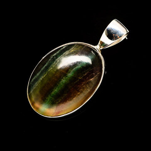 Fluorite Pendants handcrafted by Ana Silver Co - PD734615