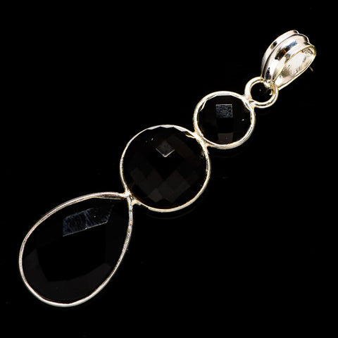 Black Onyx Pendants handcrafted by Ana Silver Co - PD734656