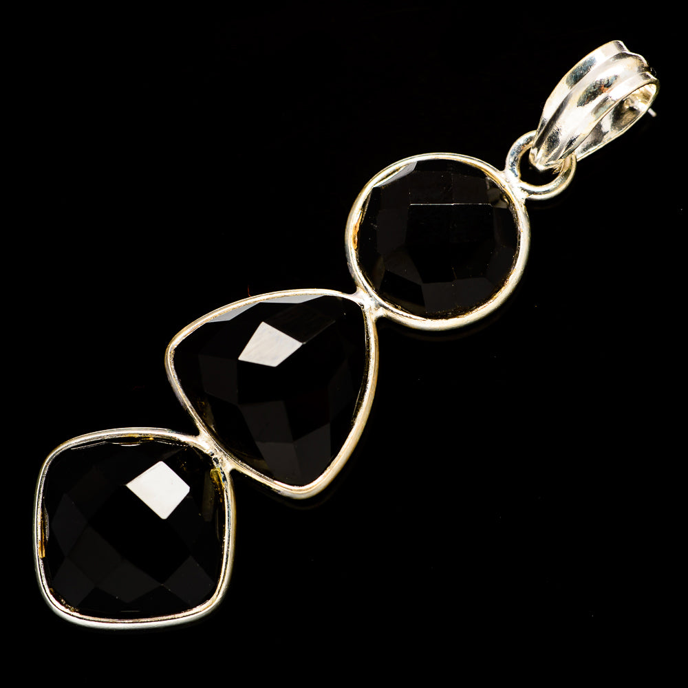 Black Onyx Pendants handcrafted by Ana Silver Co - PD734831