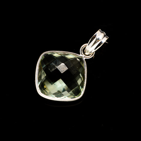 Green Amethyst Pendants handcrafted by Ana Silver Co - PD735174