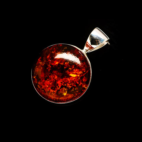 Baltic Amber Pendants handcrafted by Ana Silver Co - PD735377