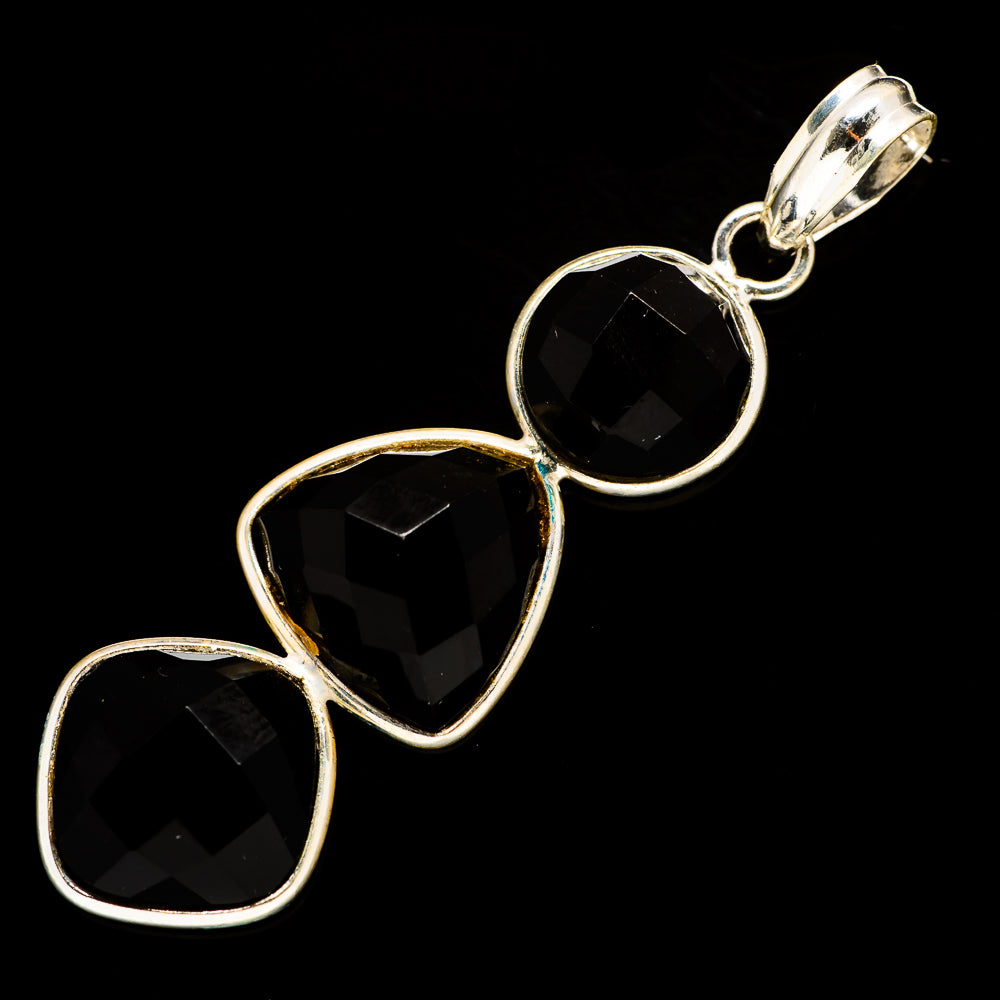 Black Onyx Pendants handcrafted by Ana Silver Co - PD735389