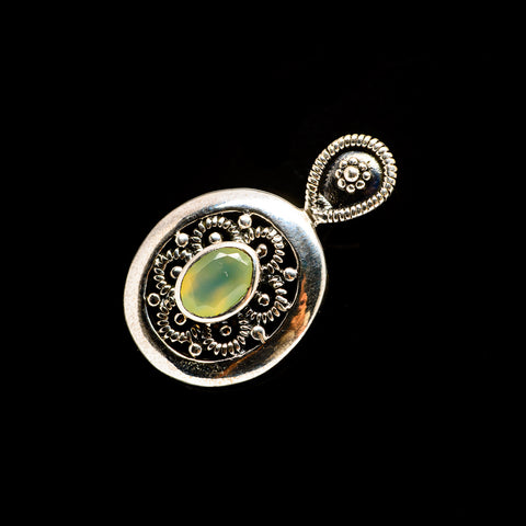 Prehnite Pendants handcrafted by Ana Silver Co - PD735507