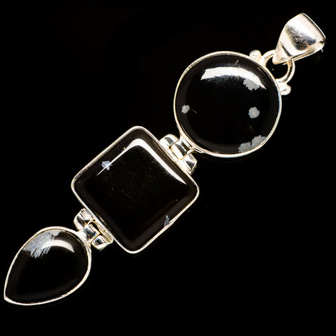 Black Onyx Pendants handcrafted by Ana Silver Co - PD735584