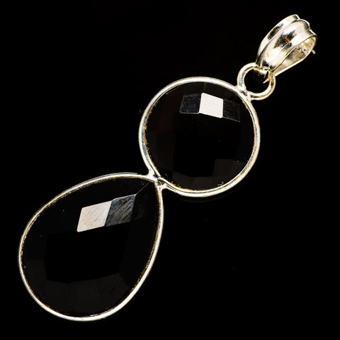 Black Onyx Pendants handcrafted by Ana Silver Co - PD735709