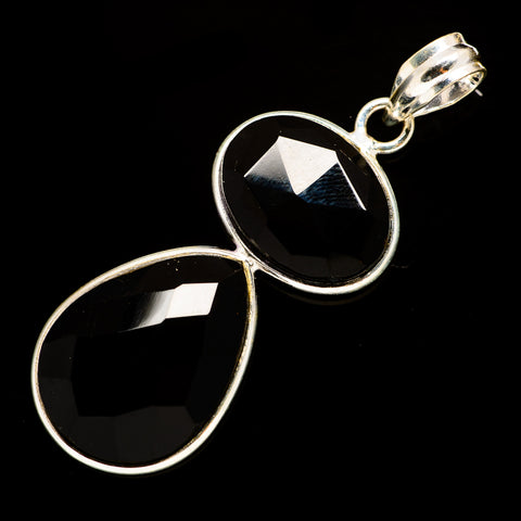 Black Onyx Pendants handcrafted by Ana Silver Co - PD735721
