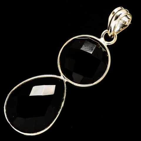 Black Onyx Pendants handcrafted by Ana Silver Co - PD735734
