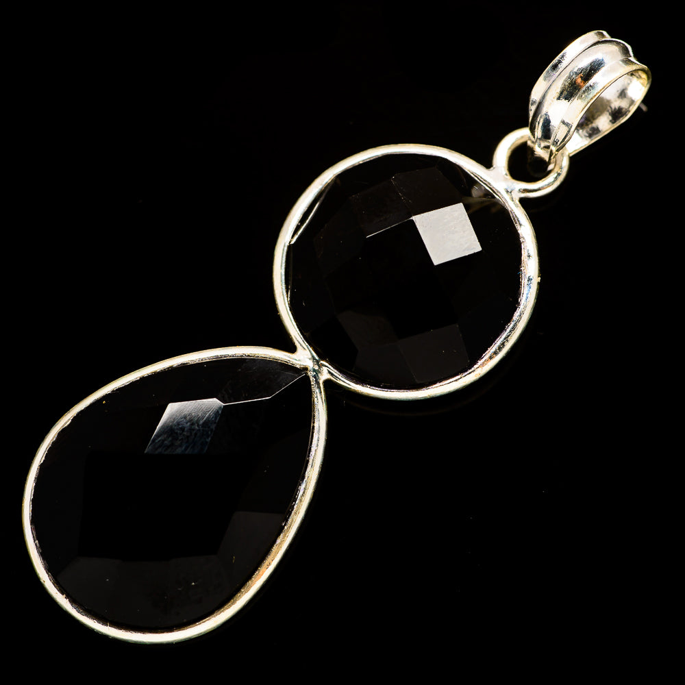 Black Onyx Pendants handcrafted by Ana Silver Co - PD735736
