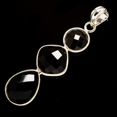 Black Onyx Pendants handcrafted by Ana Silver Co - PD735740