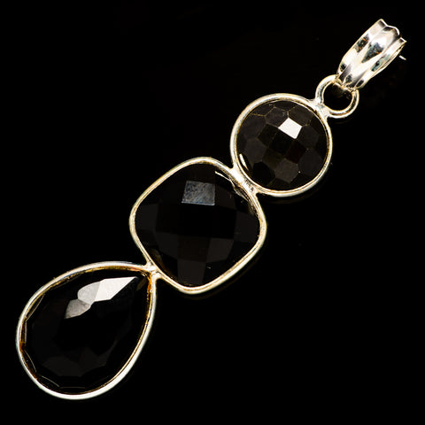 Black Onyx Pendants handcrafted by Ana Silver Co - PD735770