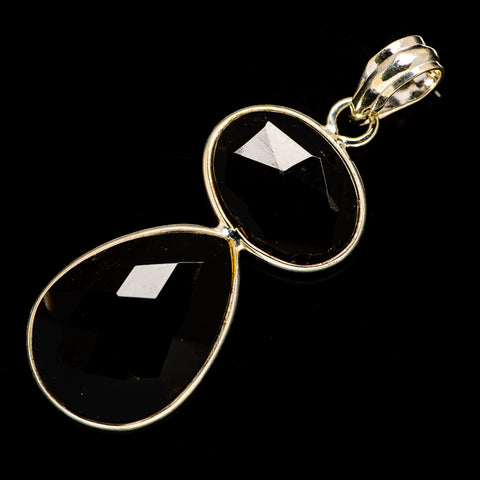 Black Onyx Pendants handcrafted by Ana Silver Co - PD735836