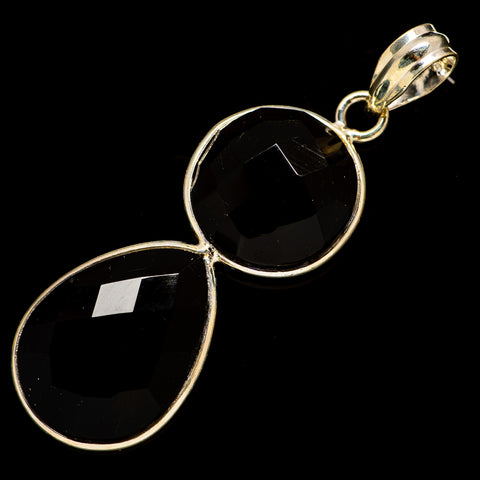 Black Onyx Pendants handcrafted by Ana Silver Co - PD735837