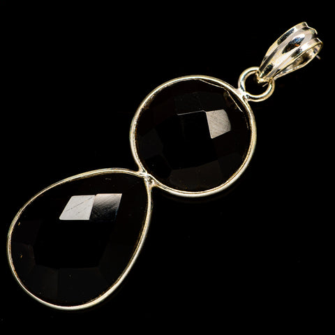 Black Onyx Pendants handcrafted by Ana Silver Co - PD735840