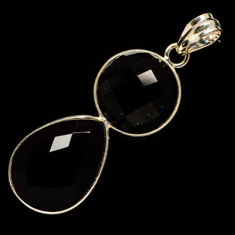 Black Onyx Pendants handcrafted by Ana Silver Co - PD735841