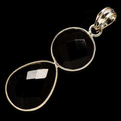 Black Onyx Pendants handcrafted by Ana Silver Co - PD735850