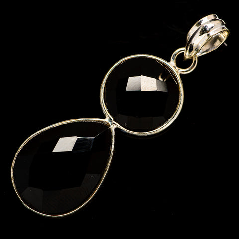 Black Onyx Pendants handcrafted by Ana Silver Co - PD735853