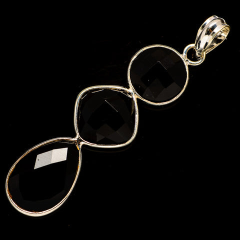 Black Onyx Pendants handcrafted by Ana Silver Co - PD735900