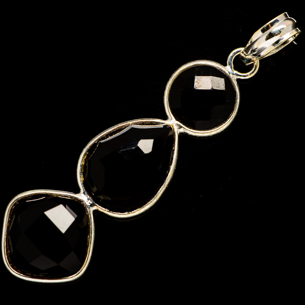 Black Onyx Pendants handcrafted by Ana Silver Co - PD735905