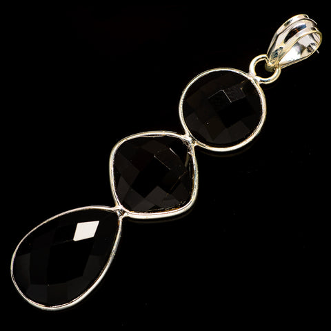 Black Onyx Pendants handcrafted by Ana Silver Co - PD735908