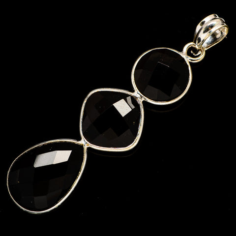 Black Onyx Pendants handcrafted by Ana Silver Co - PD735909