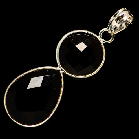 Black Onyx Pendants handcrafted by Ana Silver Co - PD735918