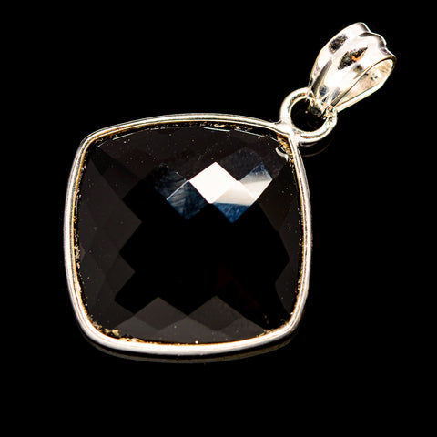 Black Onyx Pendants handcrafted by Ana Silver Co - PD735941