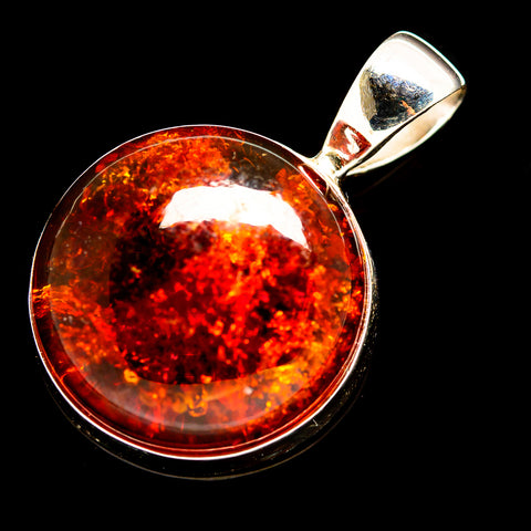 Baltic Amber Pendants handcrafted by Ana Silver Co - PD735957