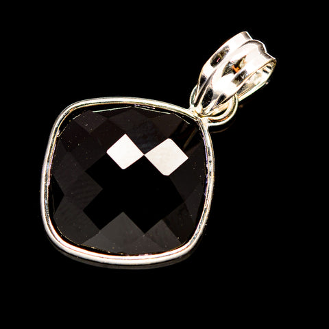 Black Onyx Pendants handcrafted by Ana Silver Co - PD736002