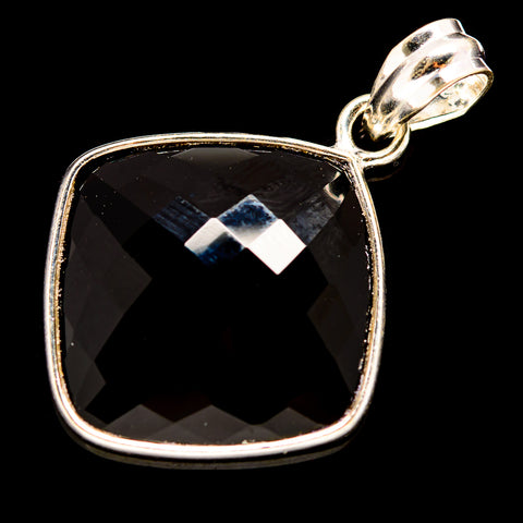 Black Onyx Pendants handcrafted by Ana Silver Co - PD736009