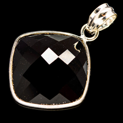 Black Onyx Pendants handcrafted by Ana Silver Co - PD736010